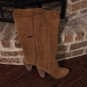 NWT Jessica Simpson Honey Brown Knee High Boot
